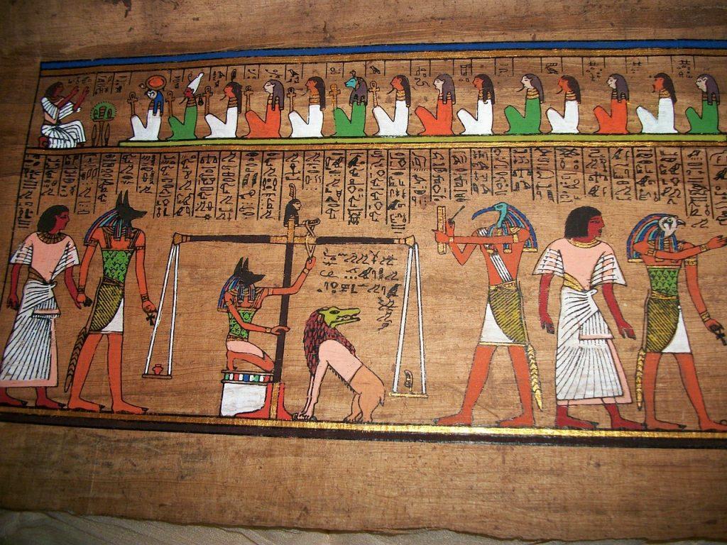 juicio final egipto